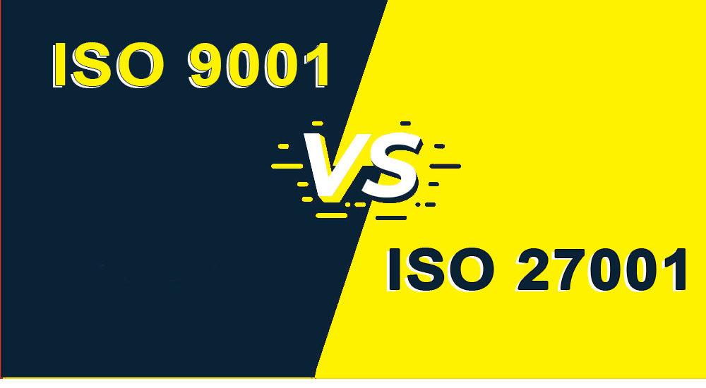 ISO 9001 vs. ISO 27001