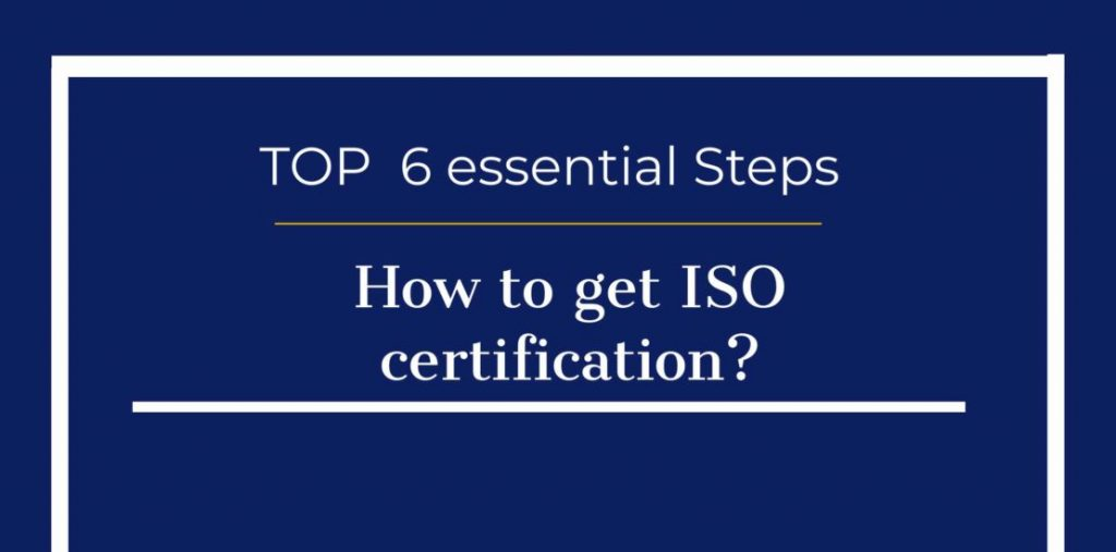 how to get iso certification