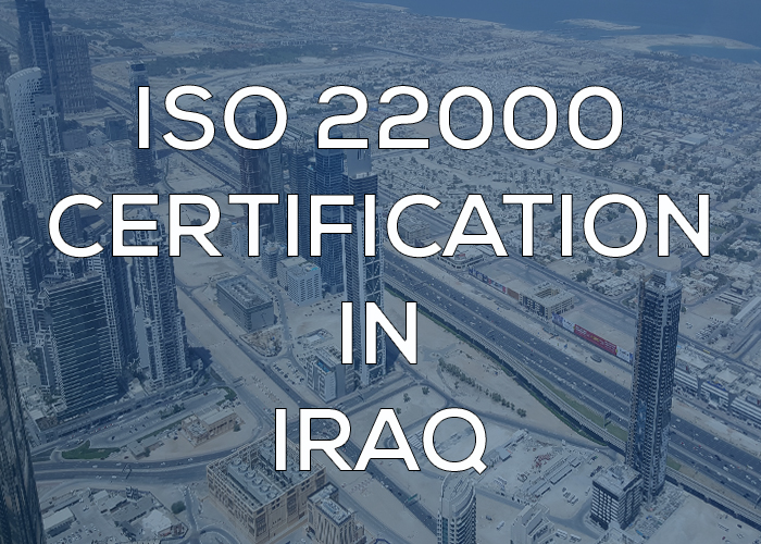 ISO 22000 Certification in Iraq