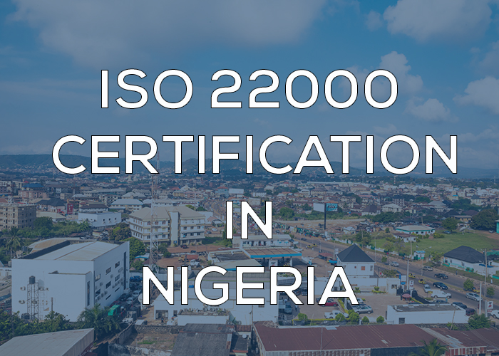 ISO 22000 Certification in Nigeria