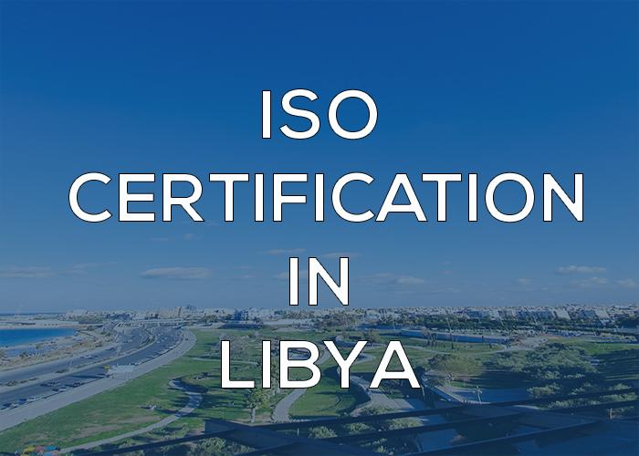 ISO Certification in Libya