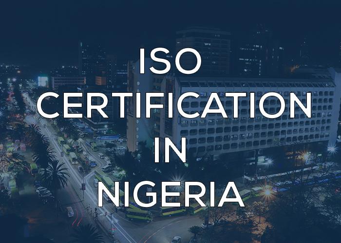 ISO consultant in Nigeria