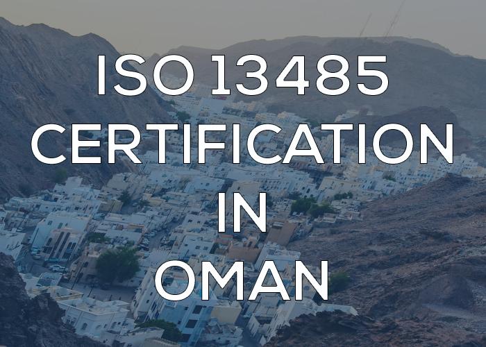 ISO 13485 Certification in Oman
