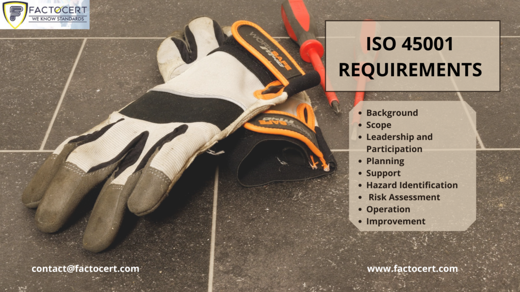 ISO 45001 requirements