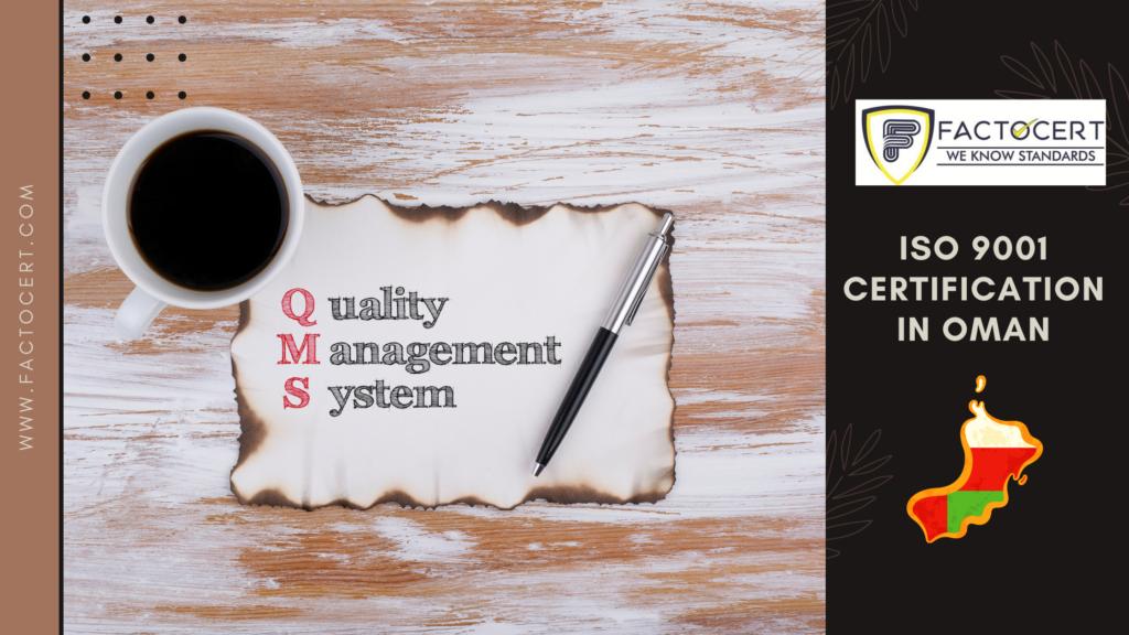 ISO 9001 certification in Oman