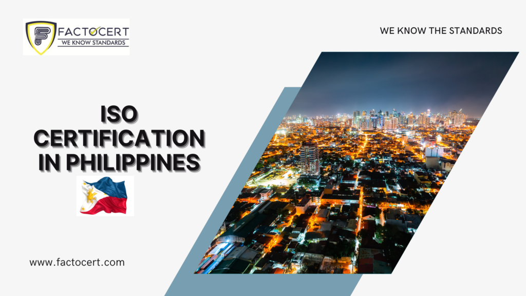 ISO CERTIFICATION IN PHILIPPINES